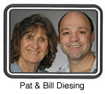 Pat and Bill Diesing